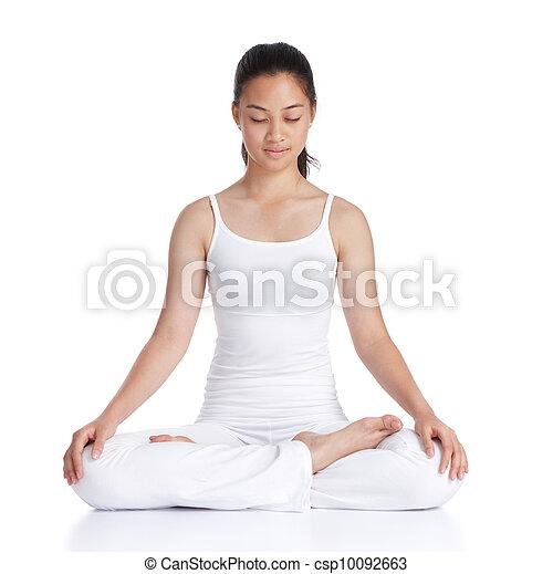 meditación - csp10092663