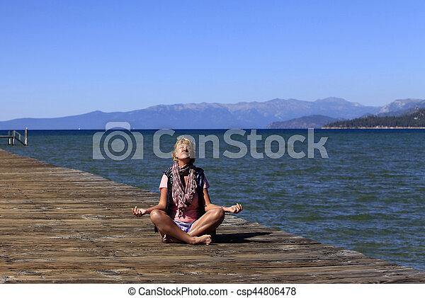 meditación - csp44806478