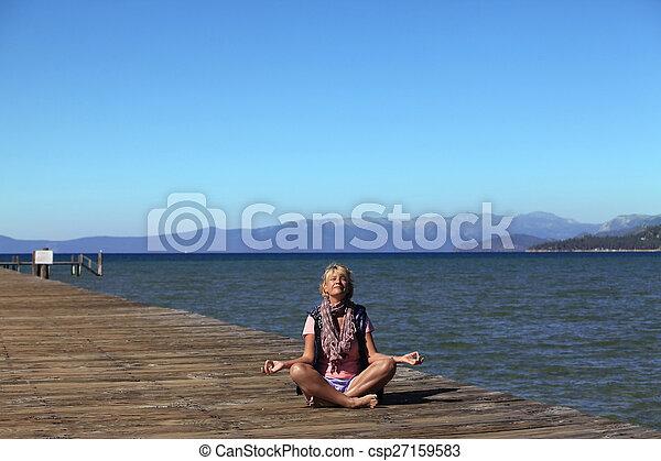 meditación - csp27159583