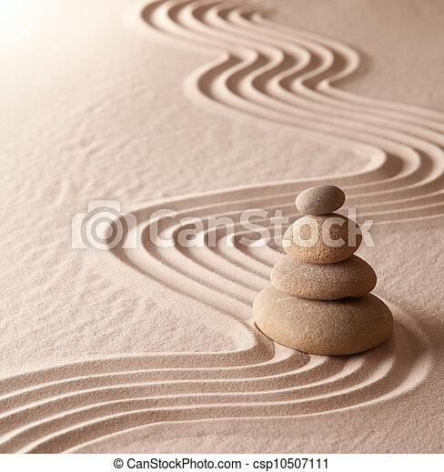 Zen Meditationsgarten - csp10507111