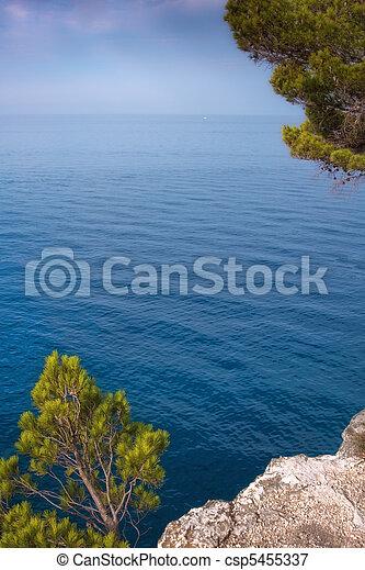 Mediterranean coast - csp5455337