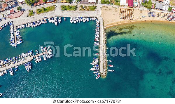 Mediterranean Little Port. - csp71770731