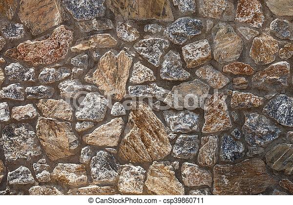 Mediterranean Old Rock Wall Background Medieval Design Template