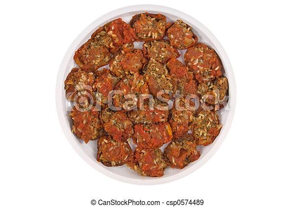 Mediterranean Stuffed Tomatoes - csp0574489