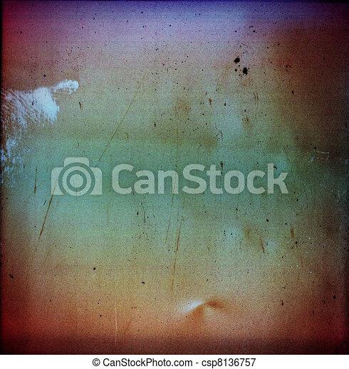Medium format film frame - csp8136757