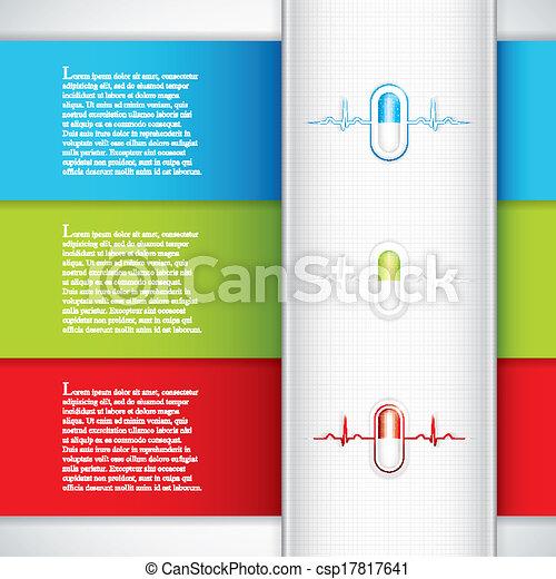 Medizinische Banner - csp17817641