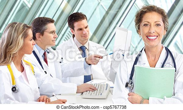 medizin, doktoren - csp5767738