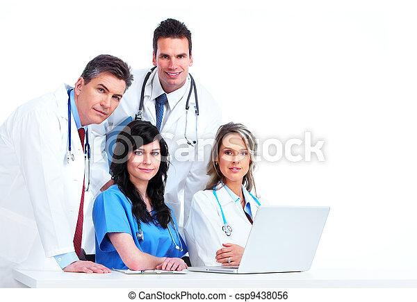 medizin, group., doktoren - csp9438056