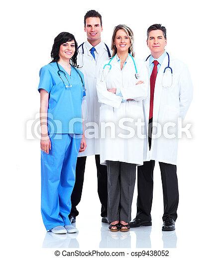 medizin, group., doktoren - csp9438052