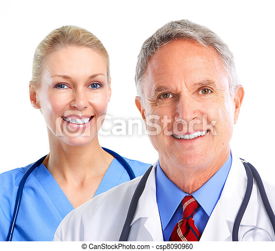 medizin, group., doktoren - csp8090960