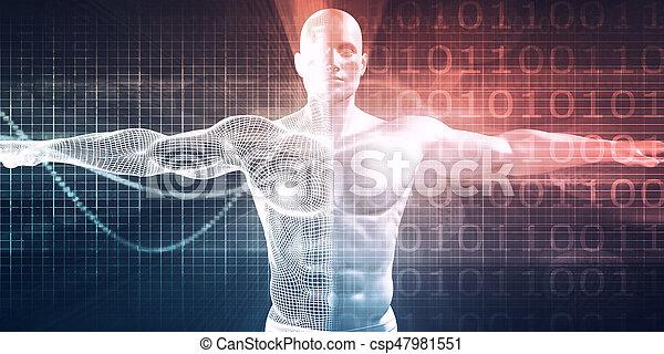 medizinische technologie - csp47981551