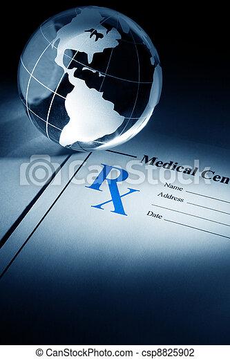 medizinprodukt, erdball, verordnung - csp8825902