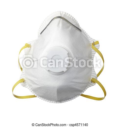 medizinprodukt, gesundheit, schützende maske, sorgfalt - csp4571140