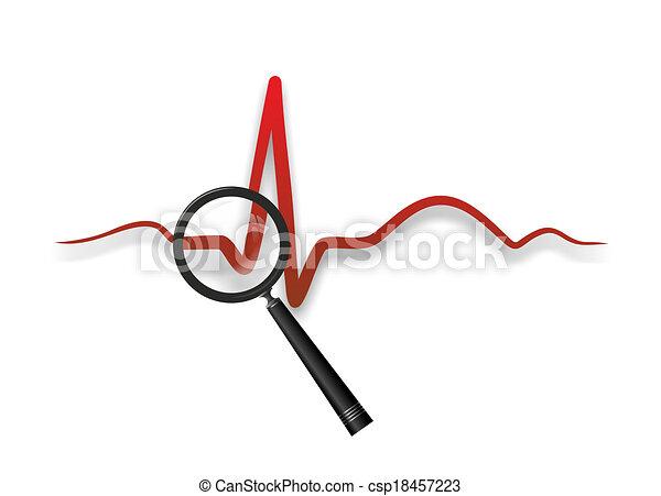medizinprodukt, herz - csp18457223