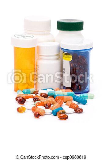 medizinprodukt, pillen - csp0980819