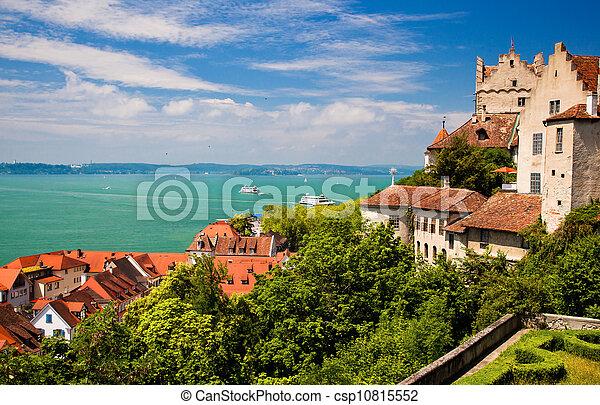 Meersburg and Lake Constance - csp10815552