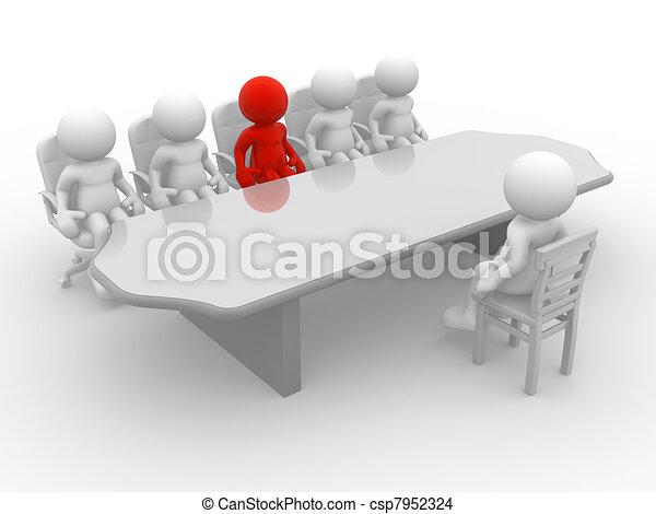 Meeting - csp7952324