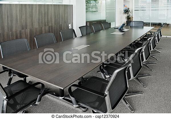 Meeting hall - csp12370924