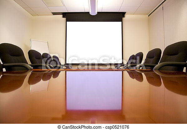 Meeting Room with Screen - csp0521076