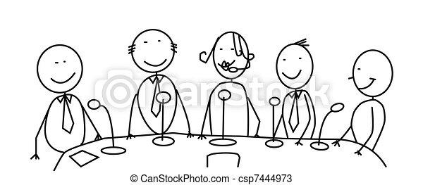 meeting team  - csp7444973