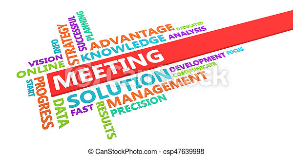 word for meeting