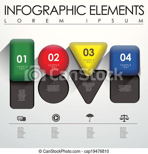 meetkunde, infographic, communie, 3d - csp19476810