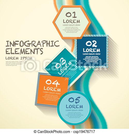 meetkunde, infographic, communie, etiket - csp19476717
