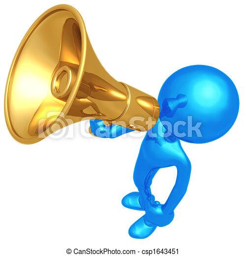 megafono - csp1643451