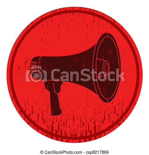 Megaphone icon - csp8217869