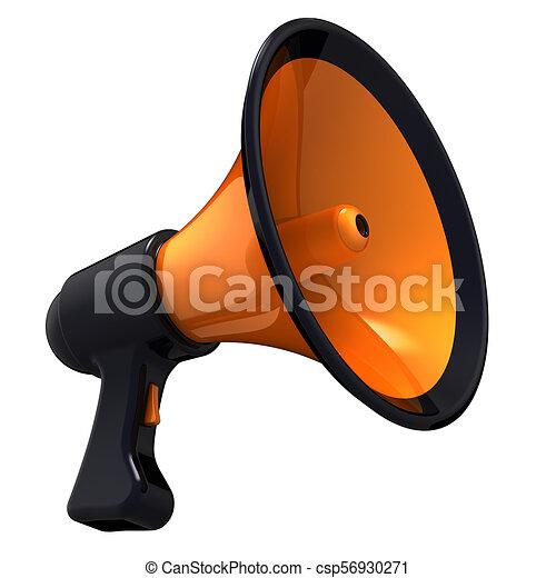 Megaphone news blog loudspeaker communication bullhorn megaphone megaphone news blog loudspeaker communication bullhorn csp56930271 publicscrutiny Gallery