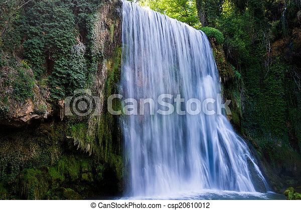 megkövez, vízesés, monastery. - csp20610012