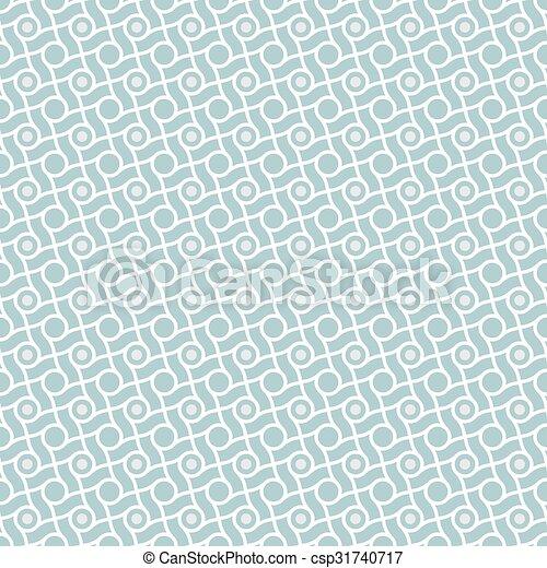 megvonalaz, motívum, karikák, retro - csp31740717