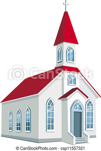 megye, kevés, keresztény, templom - csp11557321