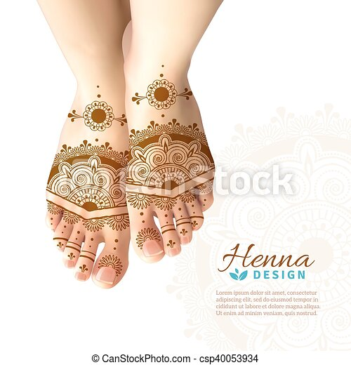 Intim henna tattoo Temporary intimate