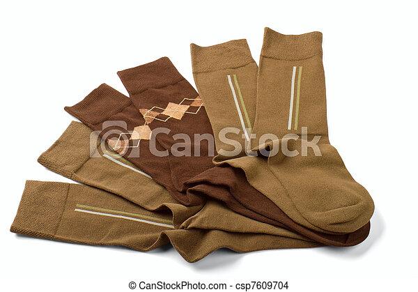 meias, homem - csp7609704