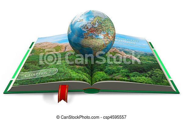 meio ambiente, conceito, proteção - csp4595557