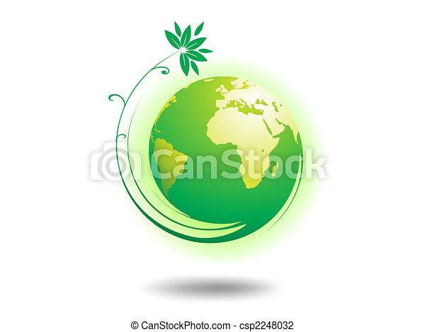 meio ambiente, globo - csp2248032