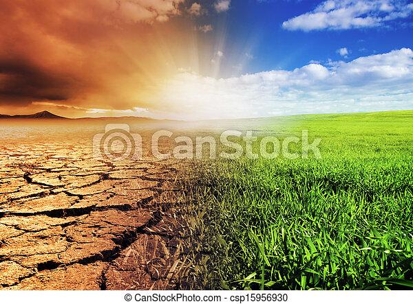 meio ambiente, mudança - csp15956930