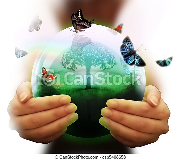 meio ambiente, símbolo - csp5408658