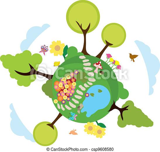 meio ambiente, terra, fundo - csp9608580
