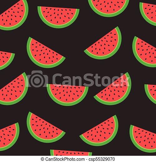 Melancia Fruta Desenho Coloridos Fruta Experiencia Vetorial