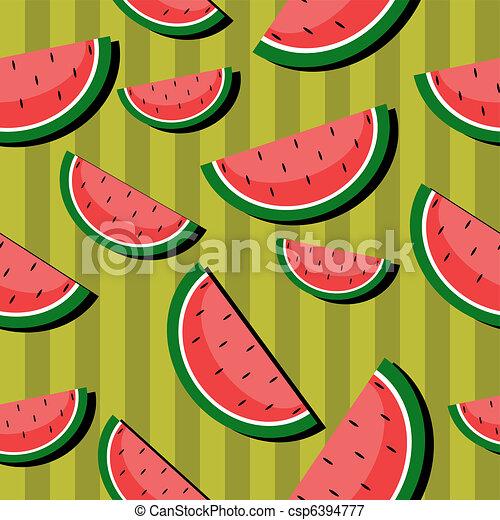 Excepcional Melancia, seamless, fundo. Melancias, seamless, ilustração  RR48