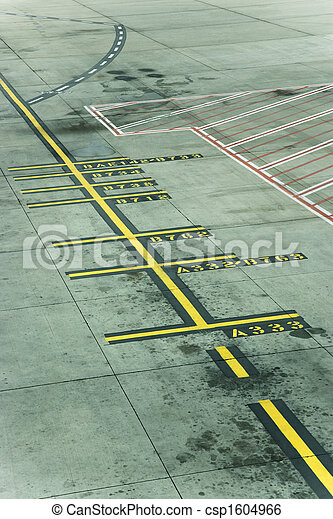 melbourne, aeroporto, pista - csp1604966