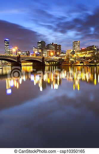 Melbourne Australia - csp10350165