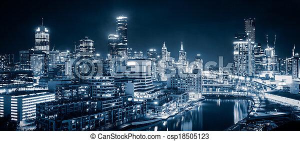 Melbourne City - csp18505123
