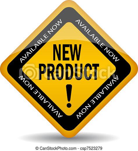 meldingsbord, nieuw product - csp7523279