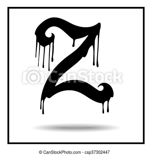 melted grunge font vector illustration bloody letters eps rh canstockphoto com grunge volleyball clipart grunge background clipart