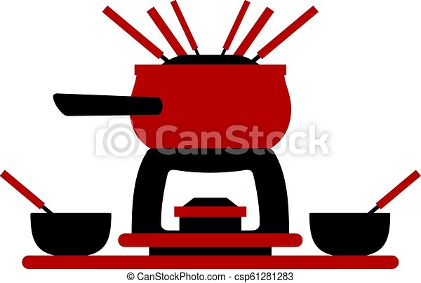 Melting Fondue Pot Set