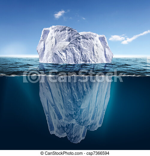 Melting Iceberg - csp7366594