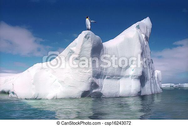Melting iceberg - csp16243072